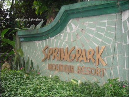 Makatang Lakwatsera @ Spring Park Mountain Resort