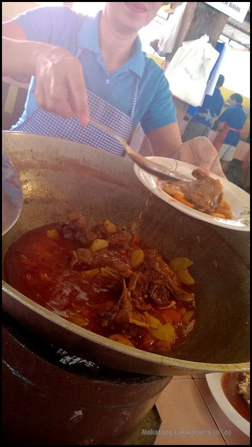 They call it mutton or chevon but we Cebuanos are just happy to call it kanding: just like how the animal to which it came from is called.